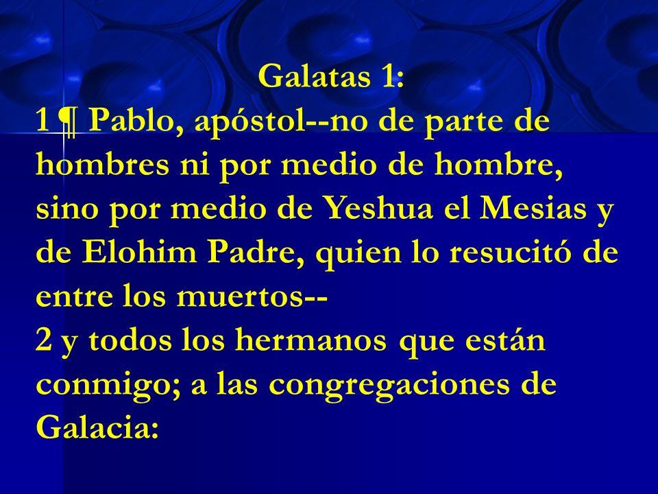 Galatas 1: