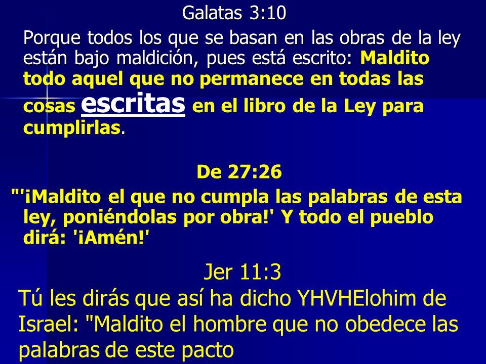 Galatas 3:10