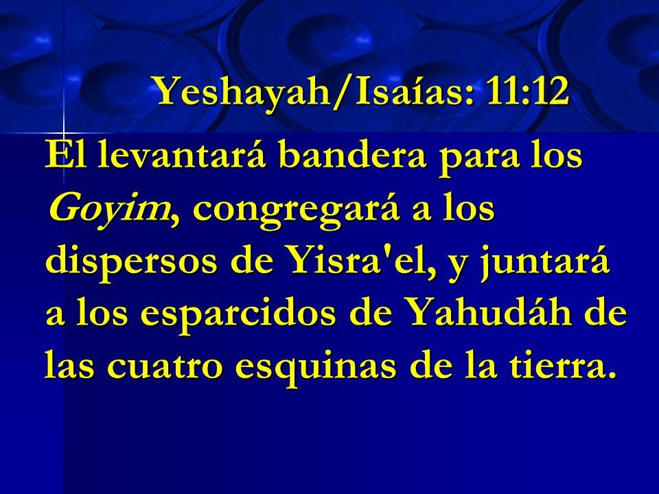 Yeshayah/Isaías: 11:12