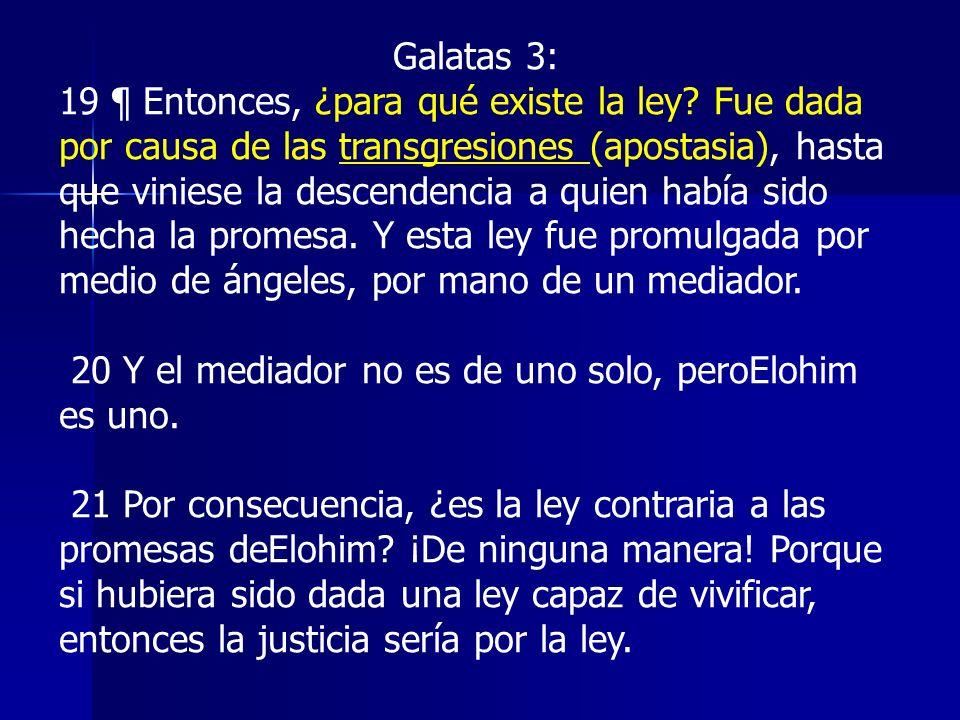 Galatas 3: