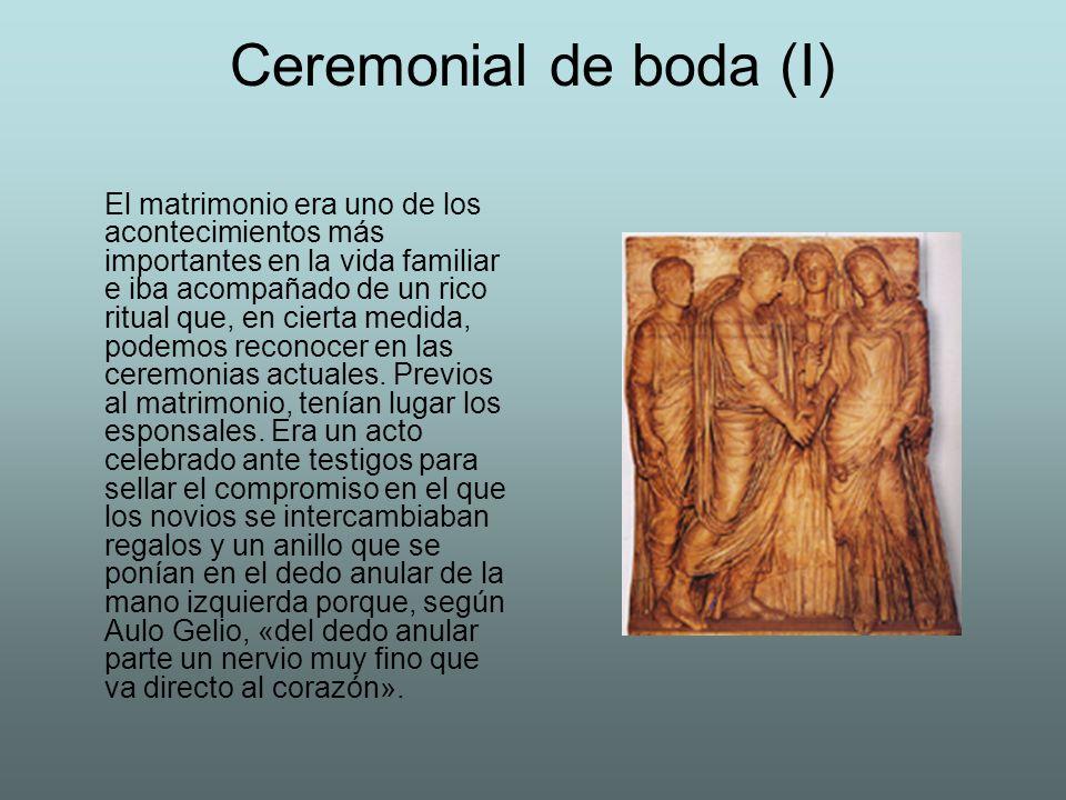 Ceremonial de boda (I)