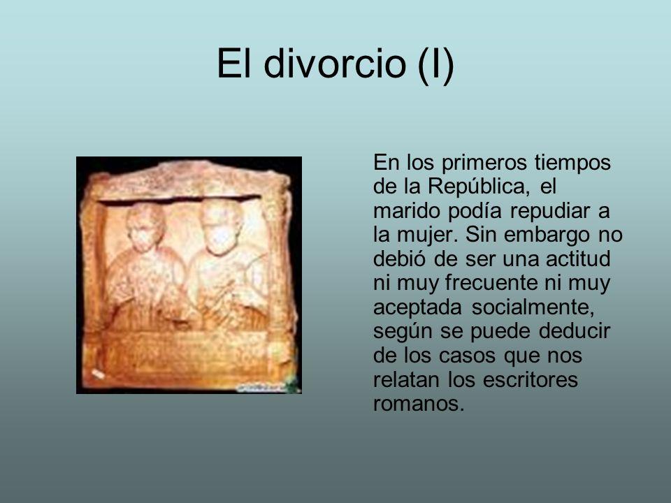 El divorcio (I)