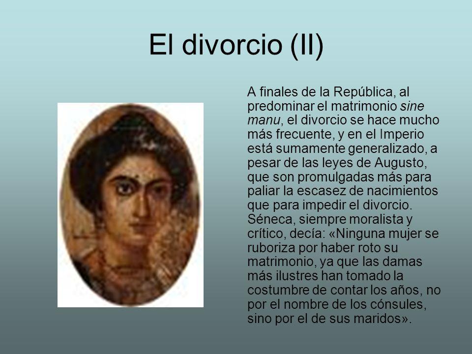 El divorcio (II)