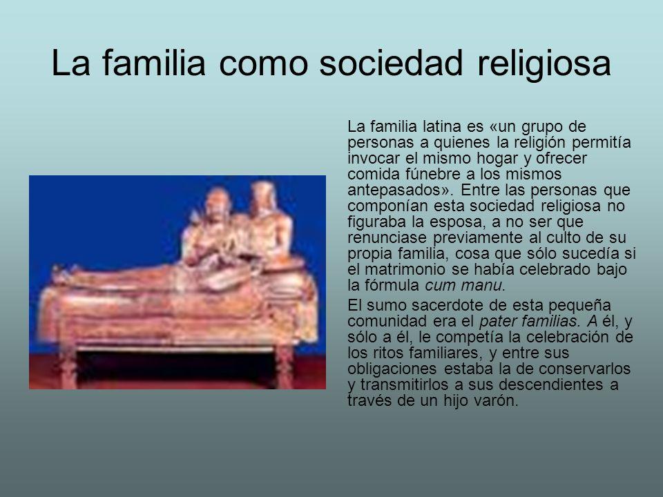 La familia como sociedad religiosa