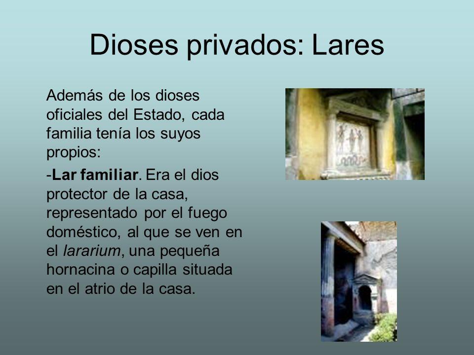 Dioses privados: Lares