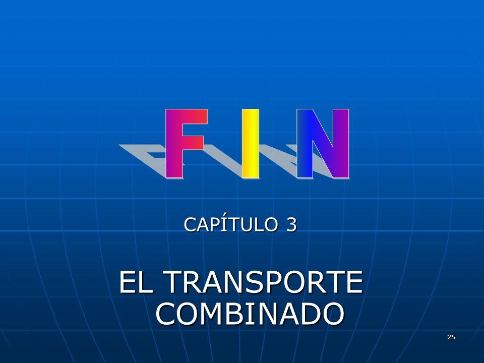 EL TRANSPORTE COMBINADO