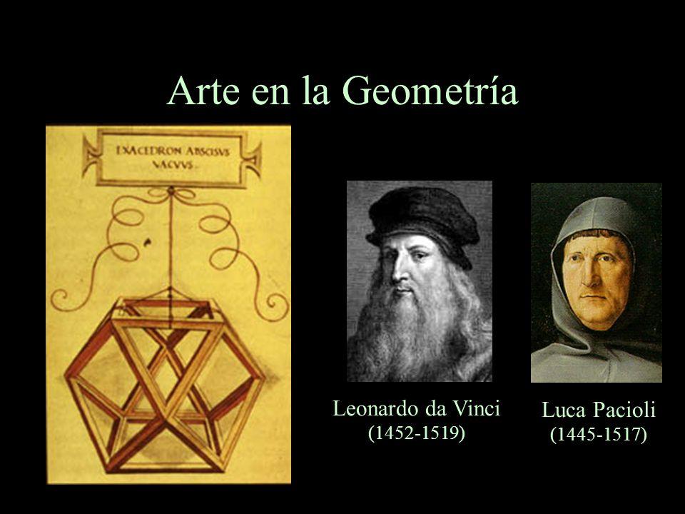 Arte en la Geometría Leonardo da Vinci (1452-1519)