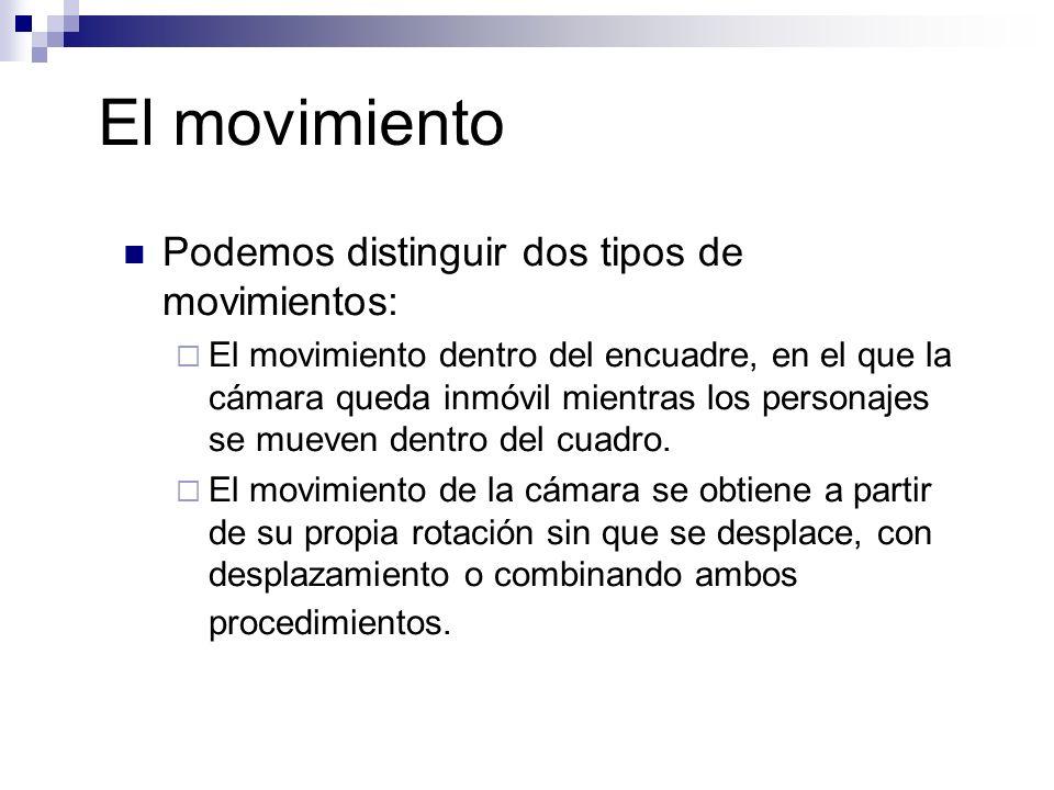 El movimiento Podemos distinguir dos tipos de movimientos: