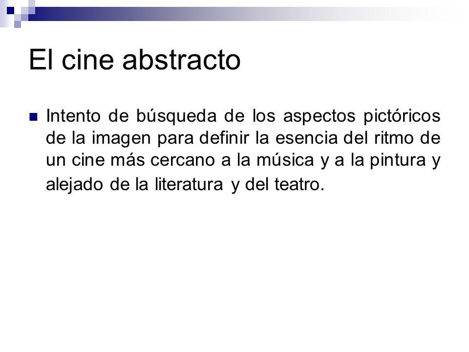 El cine abstracto
