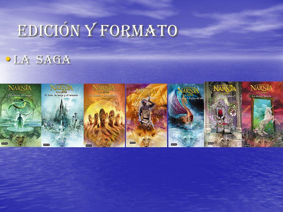 Edición y formato La saga