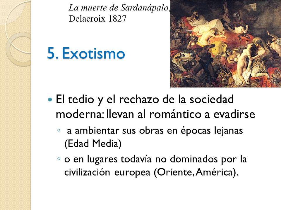La muerte de Sardanápalo, Delacroix 1827