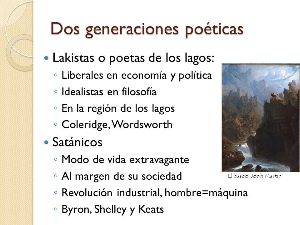 Dos generaciones poéticas