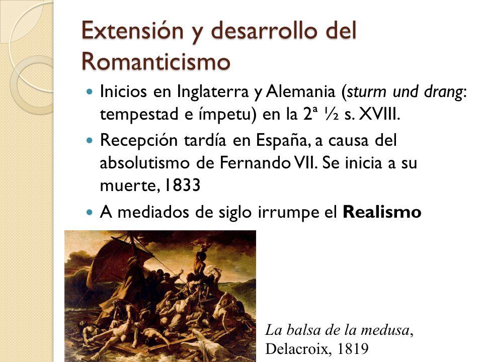 Extensión y desarrollo del Romanticismo