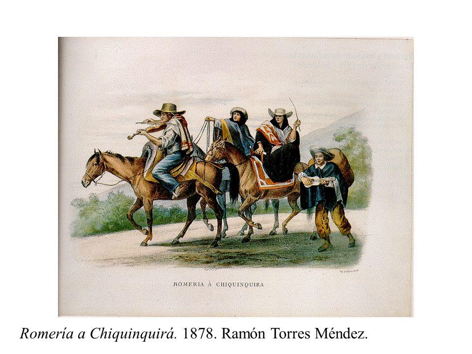 Romería a Chiquinquirá. 1878. Ramón Torres Méndez.