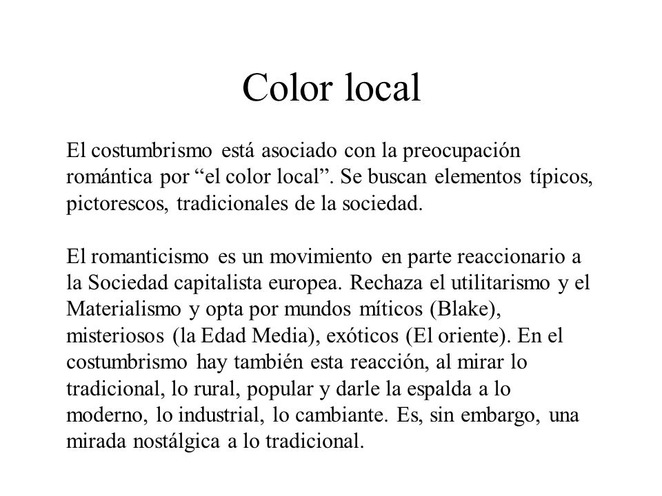 Color local