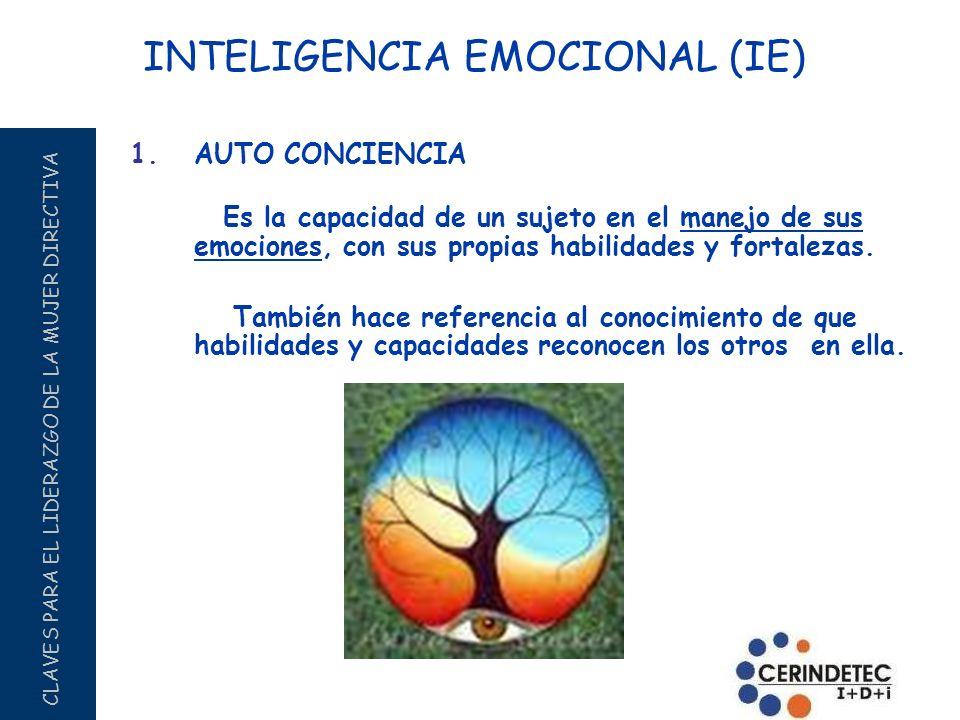 INTELIGENCIA EMOCIONAL (IE)