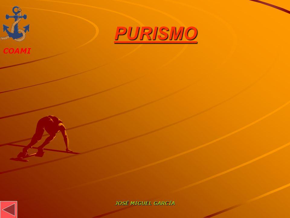 PURISMO JOSÉ MIGUEL GARCÍA