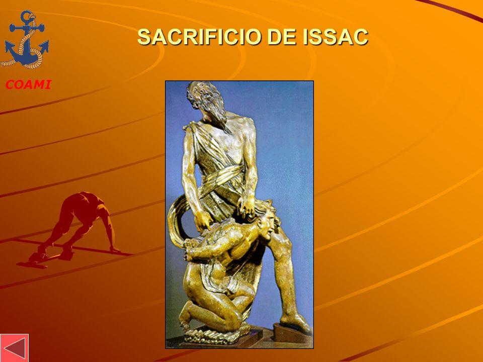 SACRIFICIO DE ISSAC JOSÉ MIGUEL GARCÍA
