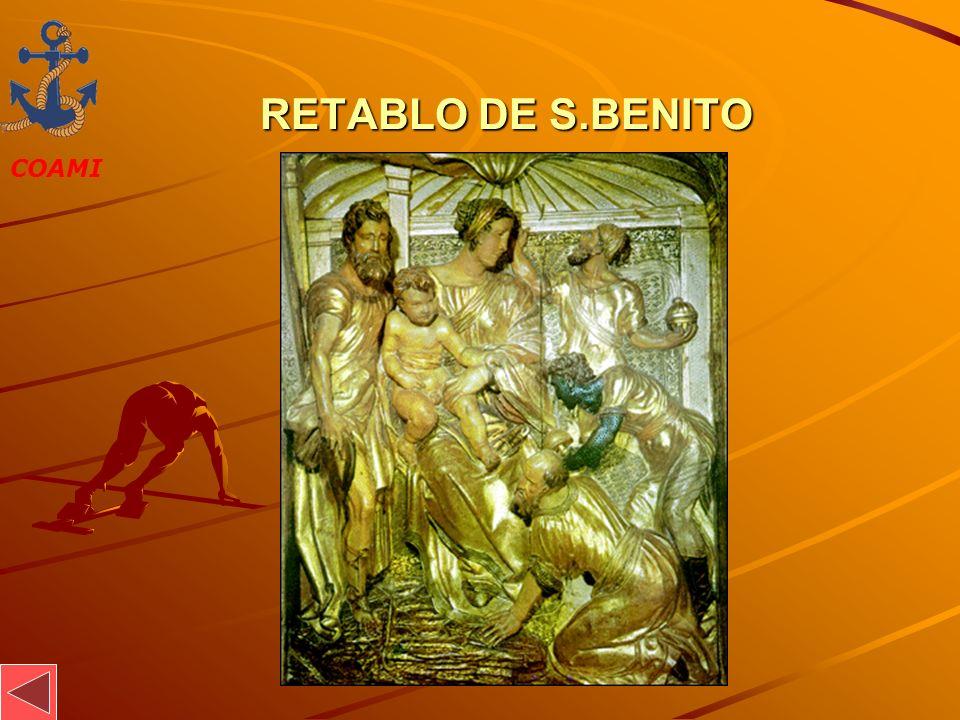 RETABLO DE S.BENITO JOSÉ MIGUEL GARCÍA