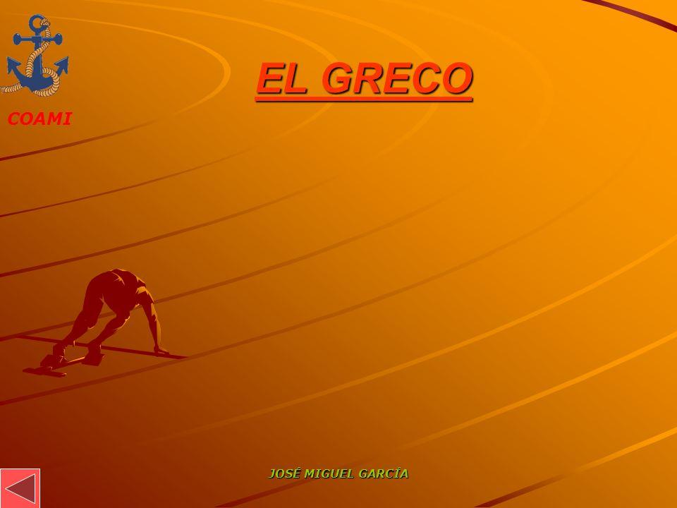 EL GRECO JOSÉ MIGUEL GARCÍA