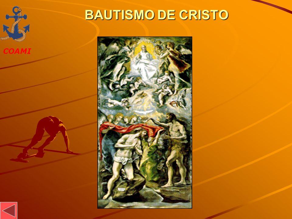 BAUTISMO DE CRISTO JOSÉ MIGUEL GARCÍA