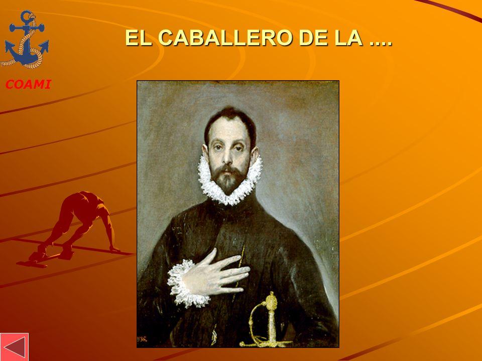 EL CABALLERO DE LA .... JOSÉ MIGUEL GARCÍA