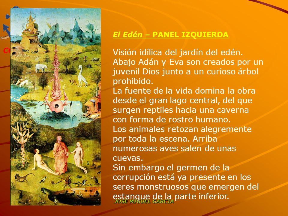 El Edén – PANEL IZQUIERDA