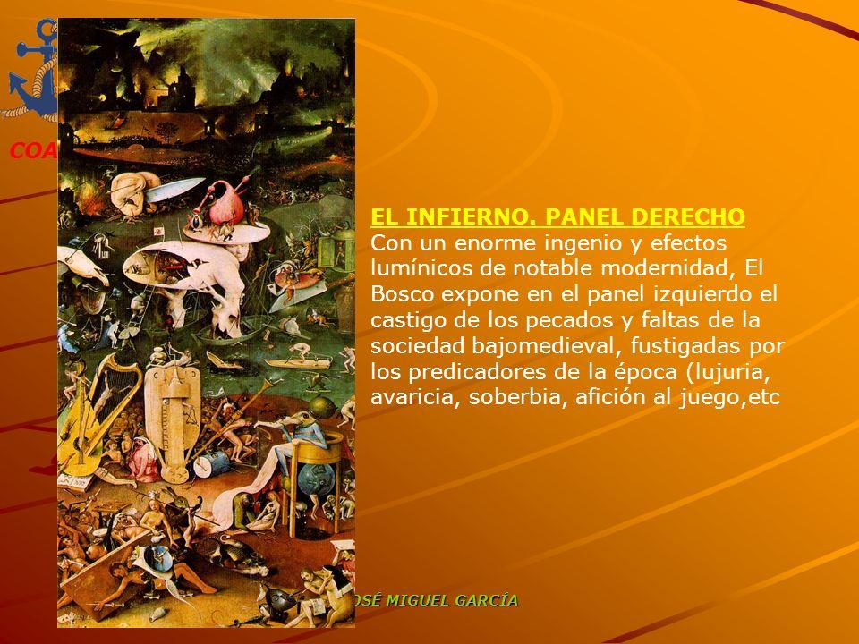 EL INFIERNO. PANEL DERECHO