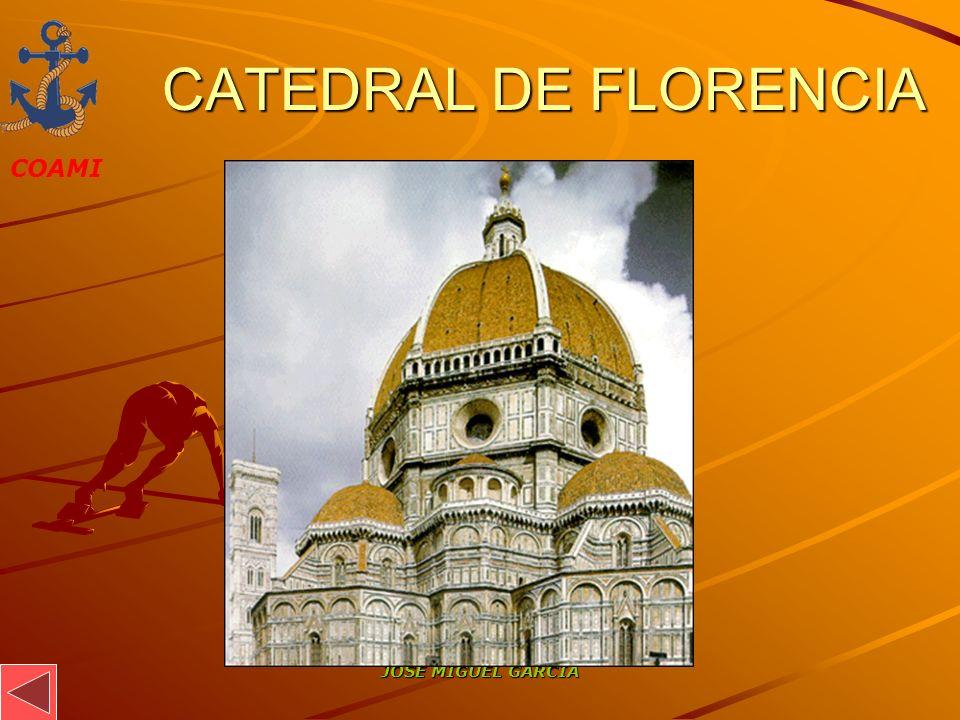 CATEDRAL DE FLORENCIA JOSÉ MIGUEL GARCÍA