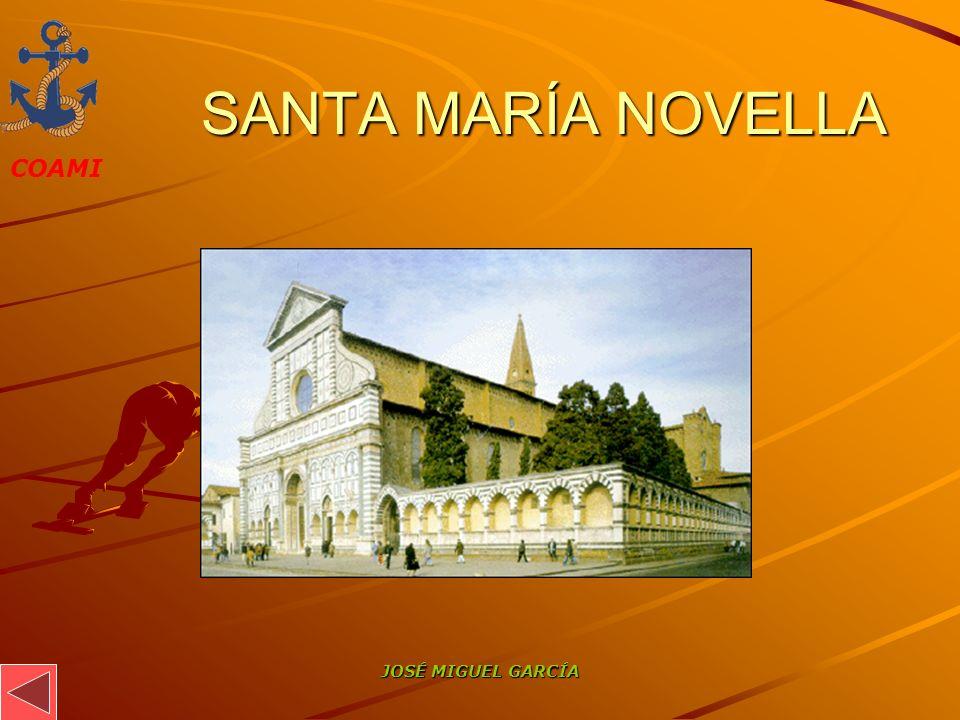 SANTA MARÍA NOVELLA JOSÉ MIGUEL GARCÍA