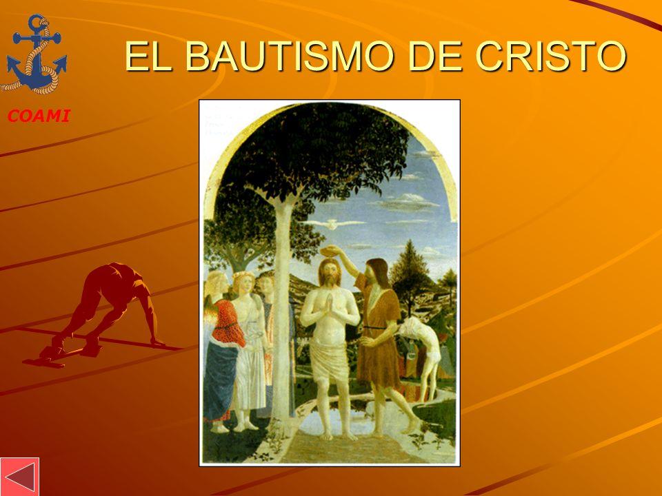 EL BAUTISMO DE CRISTO JOSÉ MIGUEL GARCÍA