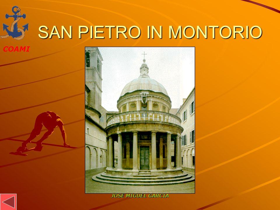 SAN PIETRO IN MONTORIO JOSÉ MIGUEL GARCÍA
