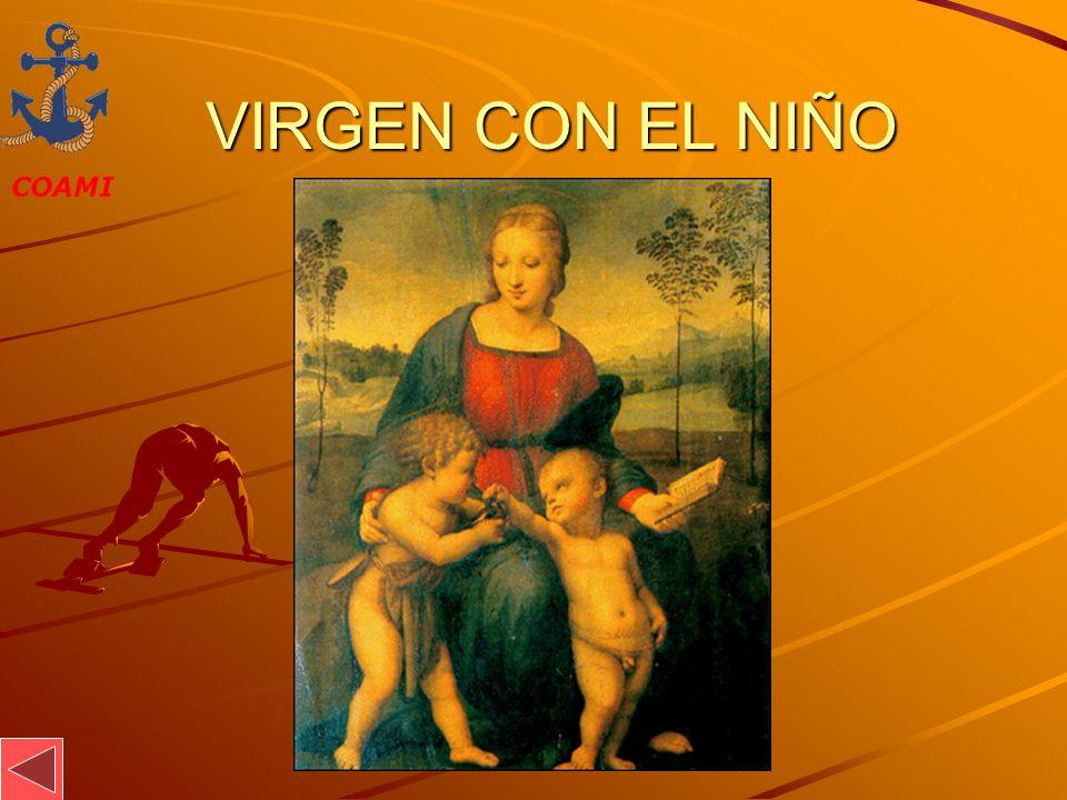 VIRGEN CON EL NIÑO JOSÉ MIGUEL GARCÍA