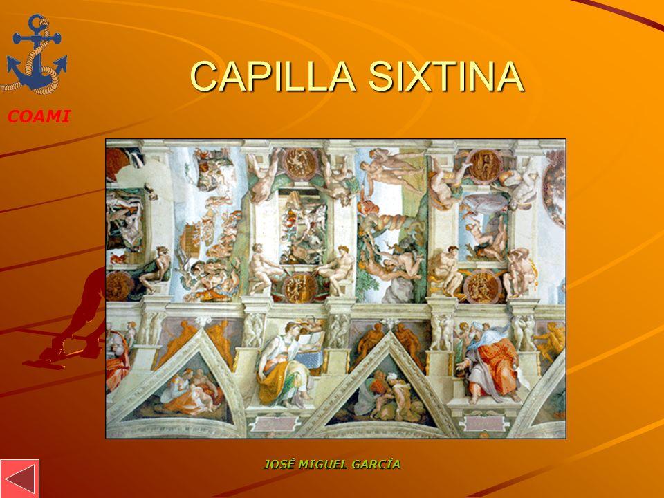 CAPILLA SIXTINA JOSÉ MIGUEL GARCÍA