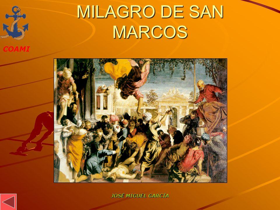MILAGRO DE SAN MARCOS JOSÉ MIGUEL GARCÍA