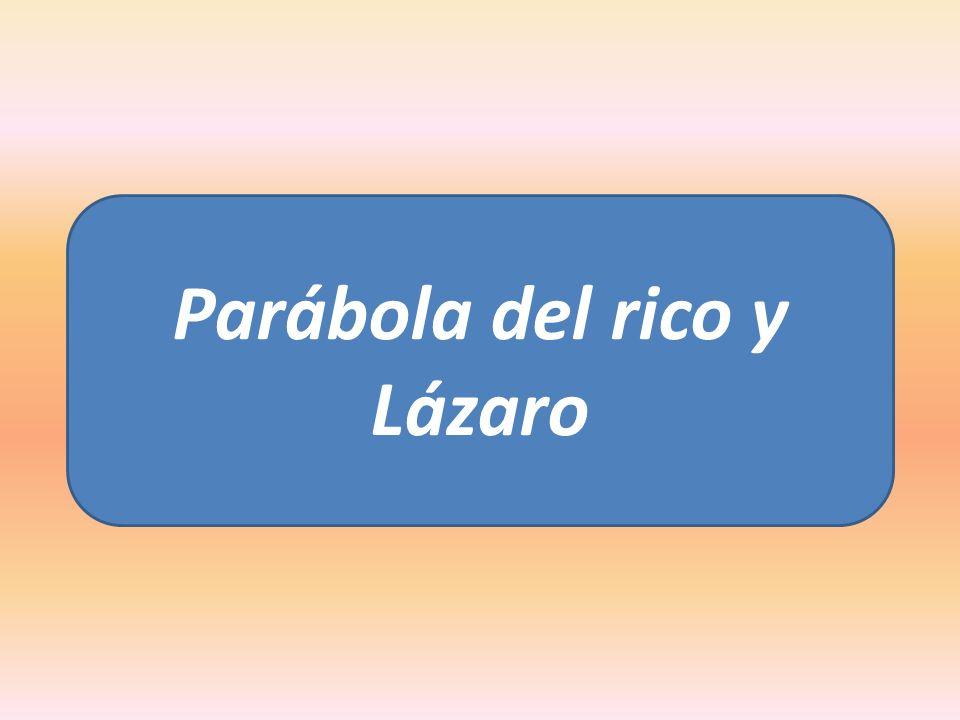Parábola del rico y Lázaro