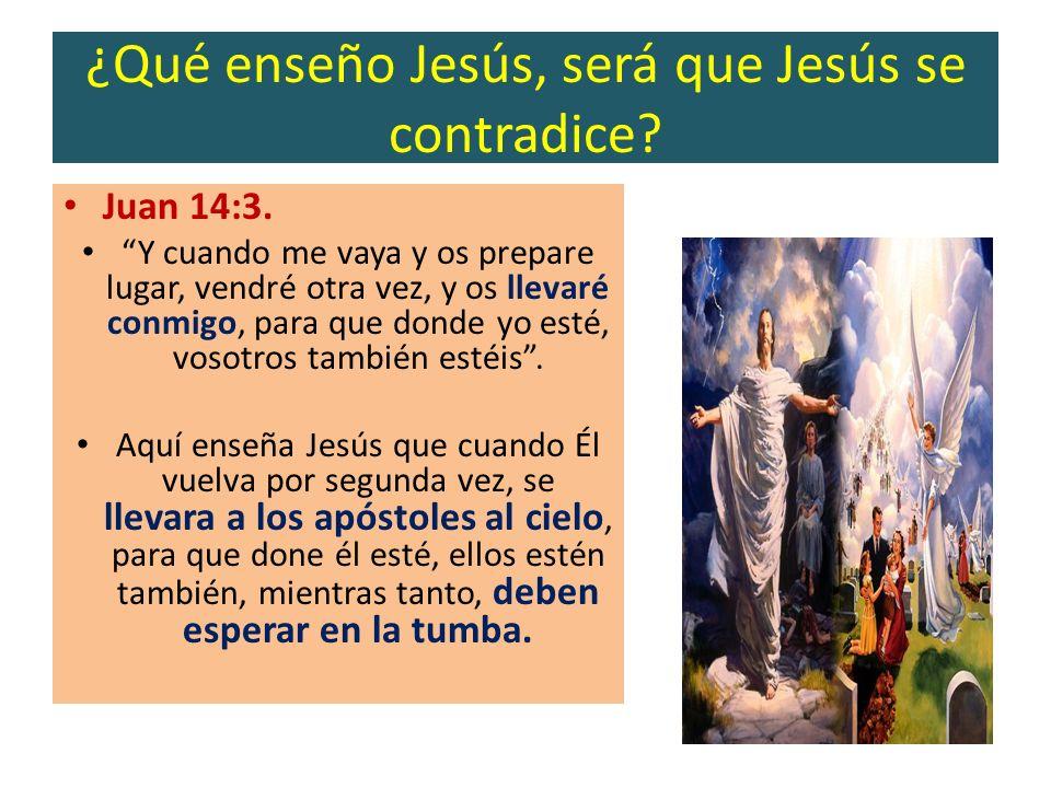 ¿Qué enseño Jesús, será que Jesús se contradice