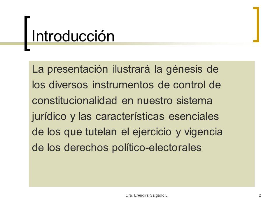 Introducción La presentación ilustrará la génesis de