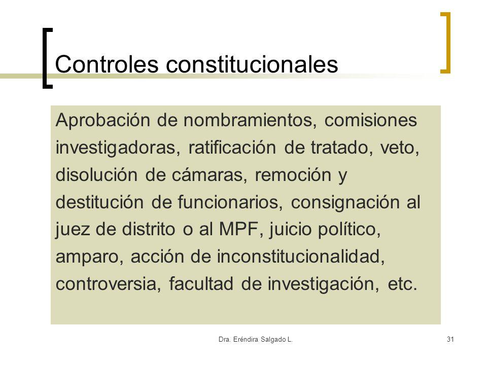 Controles constitucionales