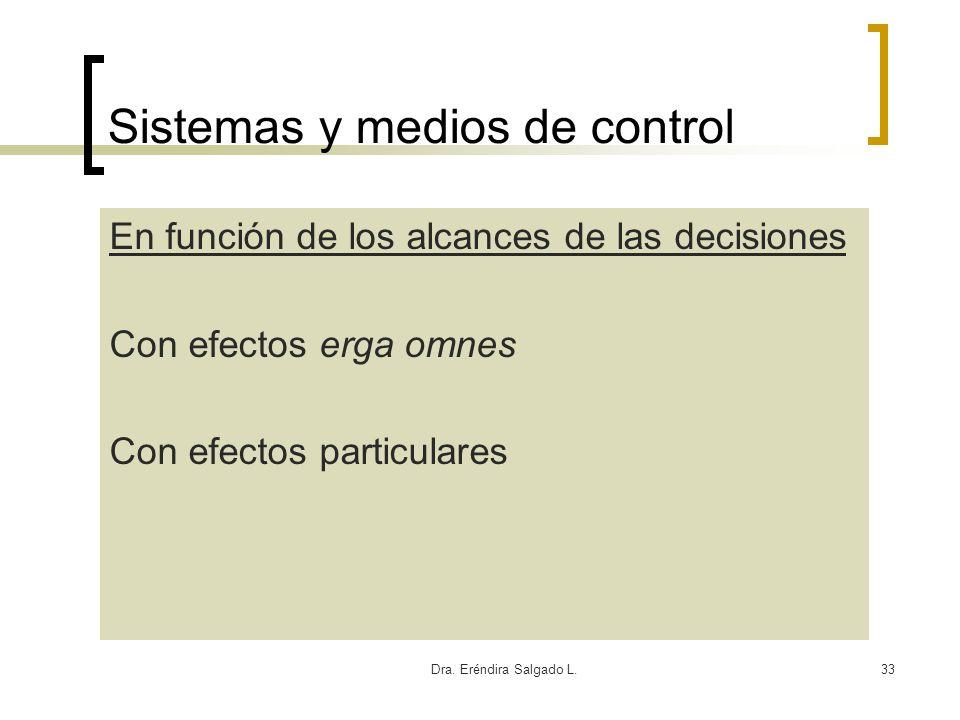 Sistemas y medios de control