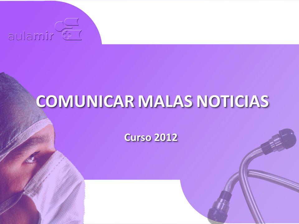 COMUNICAR MALAS NOTICIAS