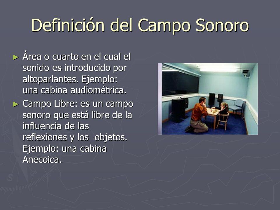 Definición del Campo Sonoro