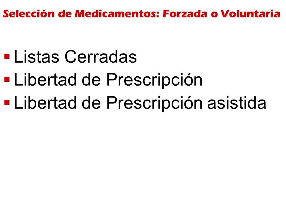 Libertad de Prescripción Libertad de Prescripción asistida