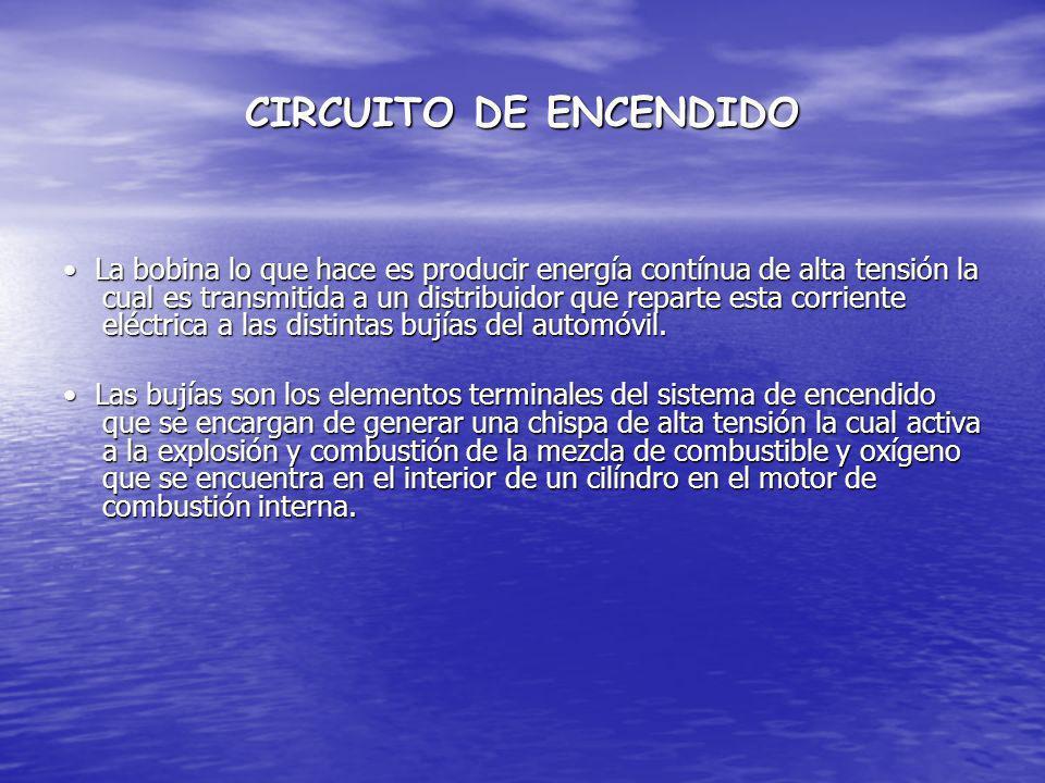CIRCUITO DE ENCENDIDO