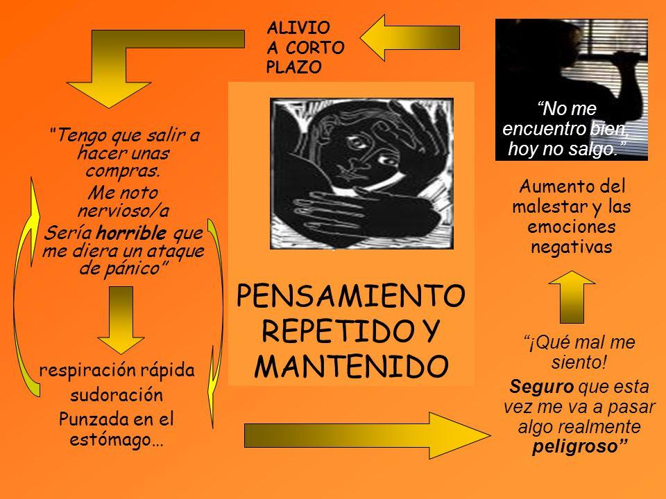 PENSAMIENTO REPETIDO Y MANTENIDO