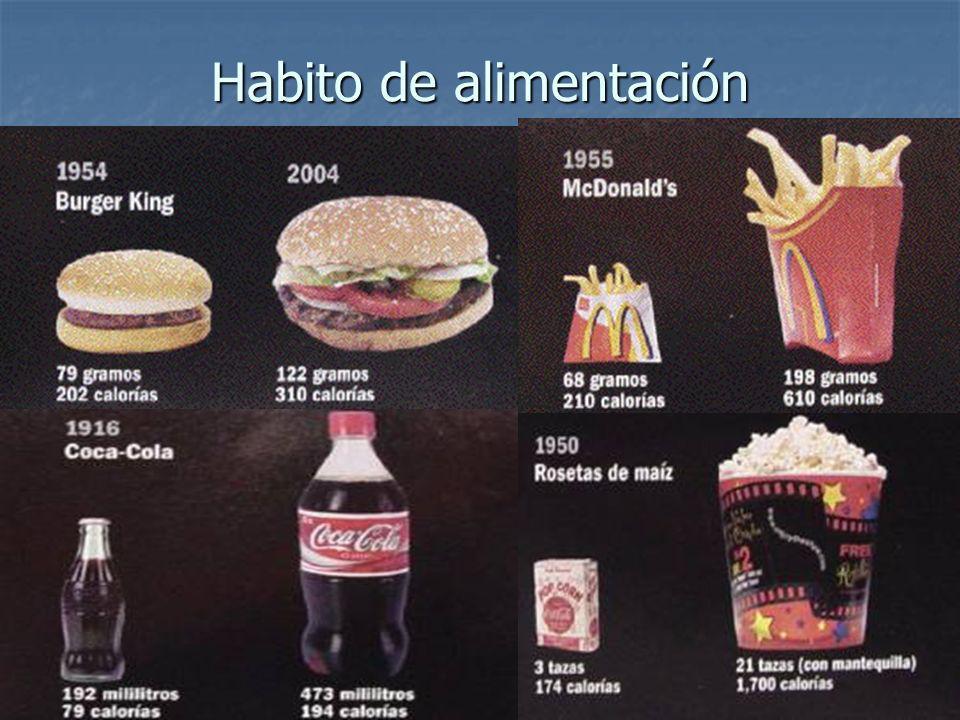Habito de alimentación