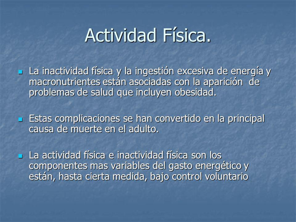 Actividad Física.