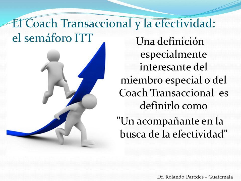 El Coach Transaccional y la efectividad: el semáforo ITT