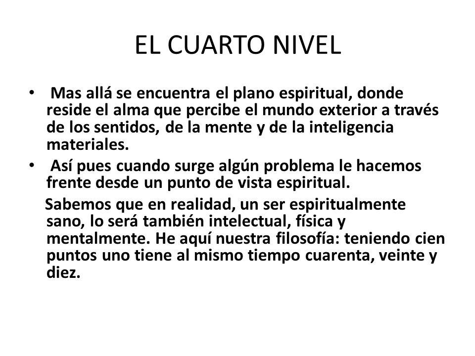 EL CUARTO NIVEL