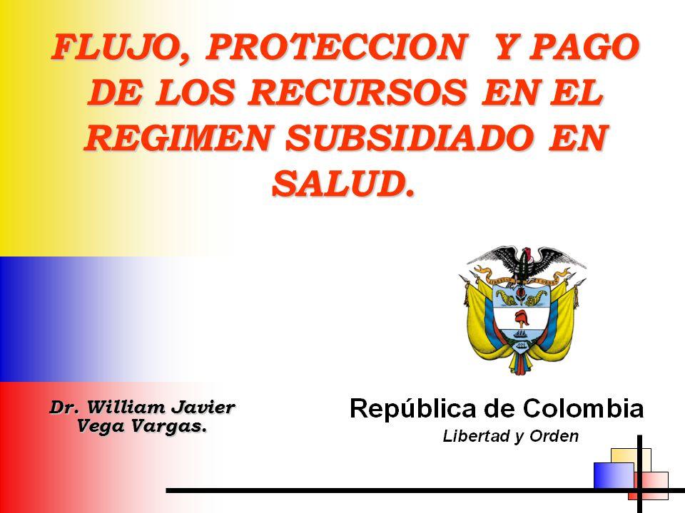 Dr. William Javier Vega Vargas.